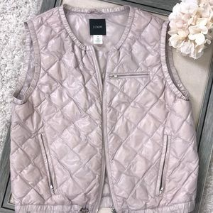 🎂🎉 HP 🥳 J. Crew nylon light pink vest